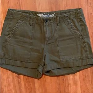 3/$15 Old Navy | Olive Green Cotton Shorts
